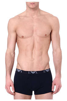 ARMANI Three pack plain trunks