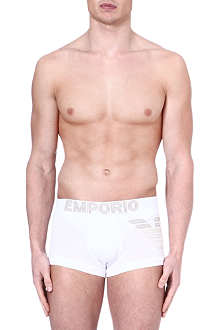 EMPORIO ARMANI Big Eagle stretch-cotton trunks