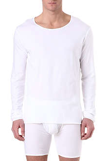 THE WHITE BRIEFS Wheat cotton top