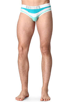 MEN Wave mesh-detail briefs