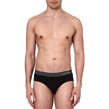 ZEGNA Cotton briefs (Black