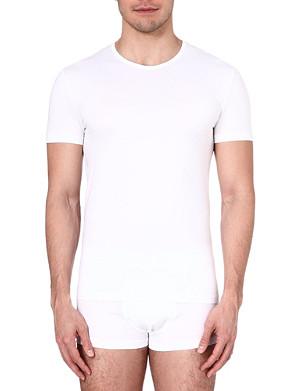 ZEGNA Crew-neck jersey t-shirt