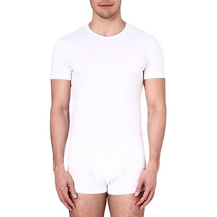 ZEGNA Crew-neck jersey t-shirt (White