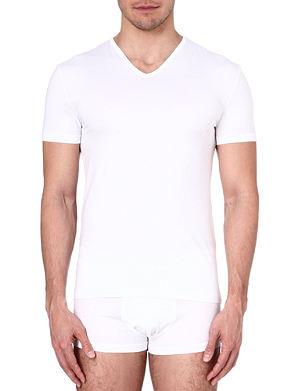 ZEGNA V-neck jersey t-shirt