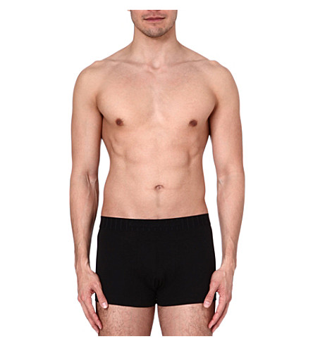 ZEGNA Cotton trunks (Black