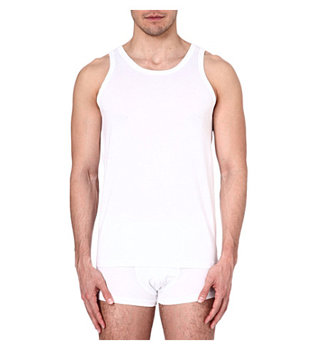 ZEGNA Cotton vest (White