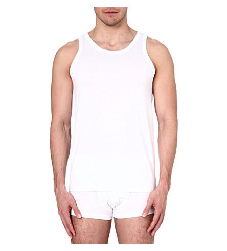ZEGNA Cotton vest (White