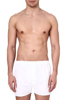 ZEGNA Loose cotton boxer shorts