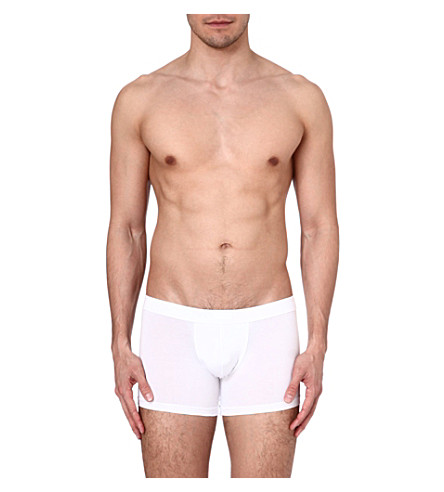 ZEGNA Jersey trunks (White