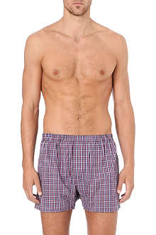 ZEGNA Checked boxers