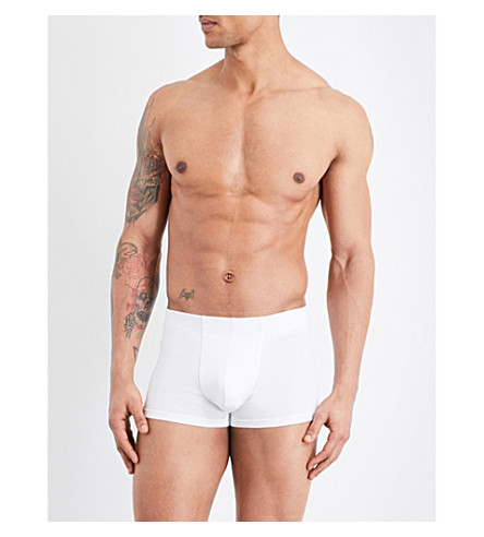 LA PERLA Stretch-cotton trunks (White
