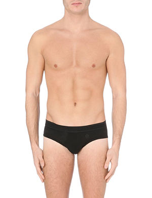 LA PERLA Branded cotton briefs