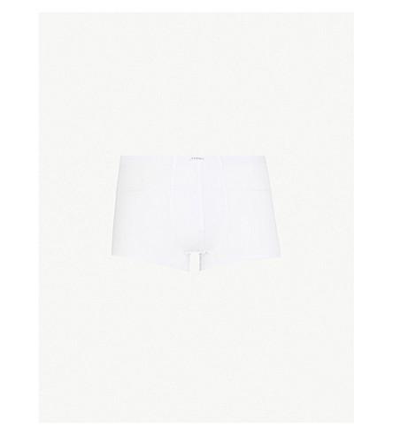 LA PERLA Seamless slim-fit stretch-cotton trunks (White