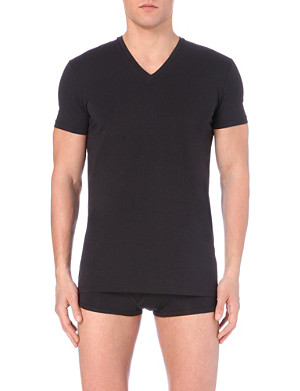 D SQUARED V-neck short-sleeved t-shirt