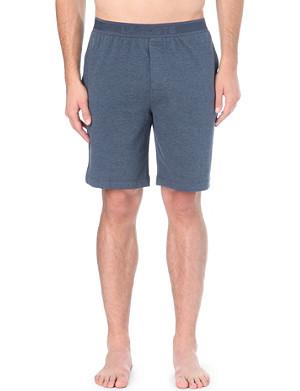 LACOSTE Piqué jersey shorts