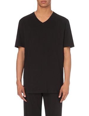 LACOSTE V-neck jersey t-shirt