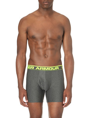 UNDER ARMOUR Original stretch-jersey boxer briefs