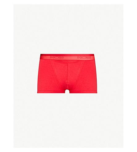 HOM Regular-fit stretch-cotton trunks (Red