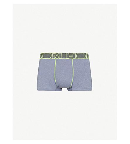 HOM Neon stretch-jersey boxer briefs (Grey
