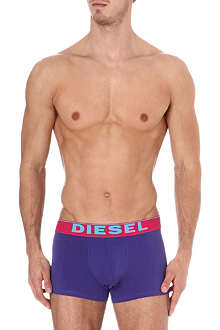 DIESEL Pack of three striped and plain briefs