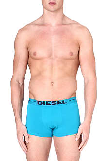 DIESEL Plain 3-pack cotton trunks