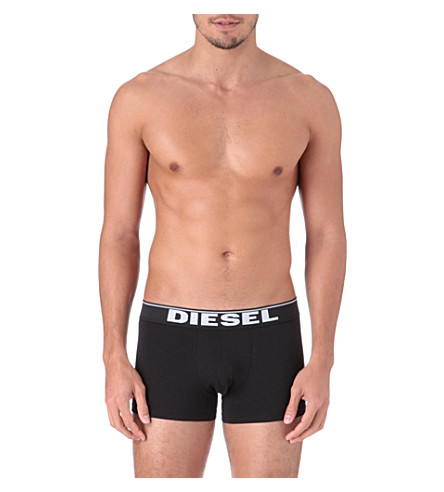 DIESEL Two pack Kory trunks (White/black