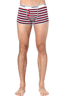 DIESEL Pack of three bold stripe trunks