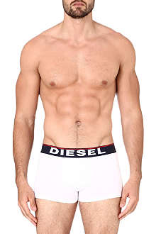 DIESEL Pack of three logo trunks