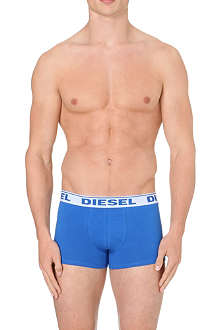 DIESEL Three pack plain trunks