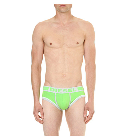 DIESEL Hero hero-fit stretch-jersey briefs (Green