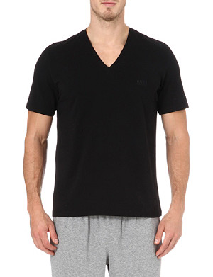 HUGO BOSS V-neck t-shirt