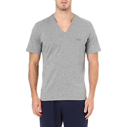 HUGO BOSS V-neck t-shirt (Grey