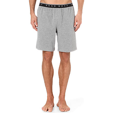 HUGO BOSS Stretch-cotton boxer shorts (Grey