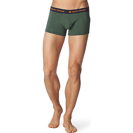 HUGO BOSS Striped trunks (Green