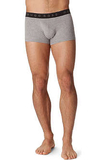 HUGO BOSS Three pack logo waistband trunks