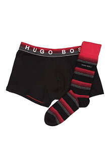 HUGO BOSS Set of socks and trunks