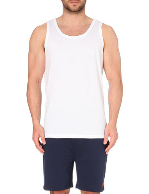 HUGO BOSS Pack of three cotton-jersey vests