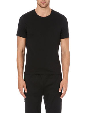 HUGO BOSS Short-sleeved cotton t-shirts pack of 3