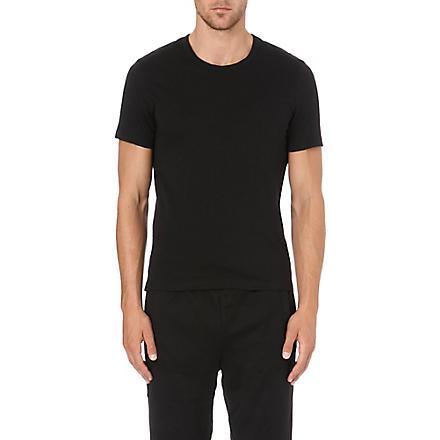 HUGO BOSS Short-sleeved cotton t-shirts pack of 3 (Multi