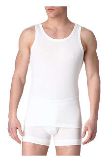 HUGO BOSS Cotton-jersey vest