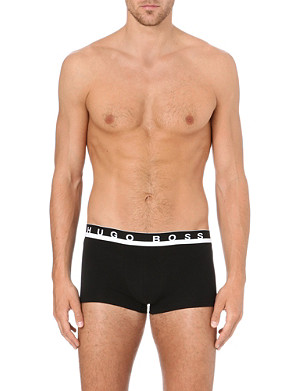 HUGO BOSS Branded stretch-cotton briefs