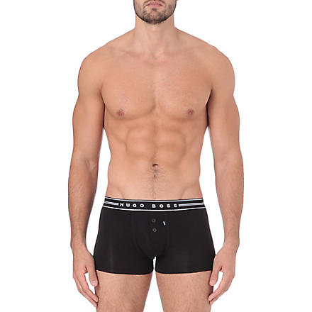 HUGO BOSS Logo trunks (Black