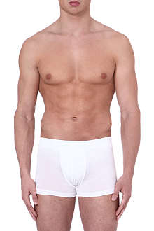 HUGO BOSS Logo jersey trunks