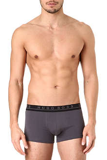 HUGO BOSS Three pack of stretch-cotton trunks