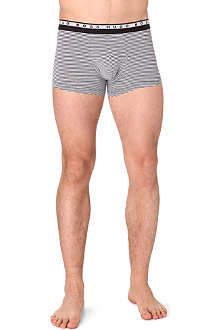 HUGO BOSS Striped stretch-cotton trunks