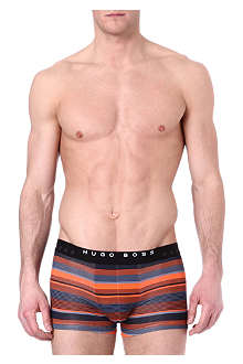 HUGO BOSS Striped trunks pack of two
