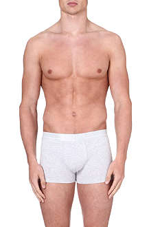 HUGO BOSS Logo stretch-cotton trunks