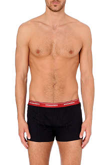 D SQUARED Contrast-waistband boxer shorts