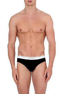 D SQUARED Ribbed cotton-blend jersey briefs