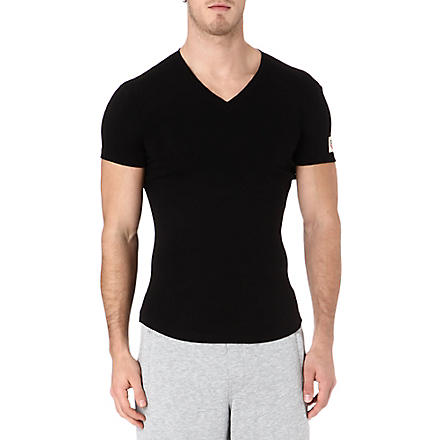 D SQUARED V-neck t-shirt (Black
